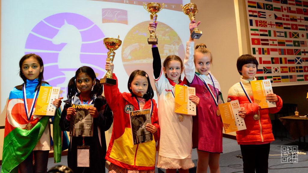Nguyễn Lê Cẩm Hiền đoạt chức vô địch Giải cờ vua trẻ thế giới 2015